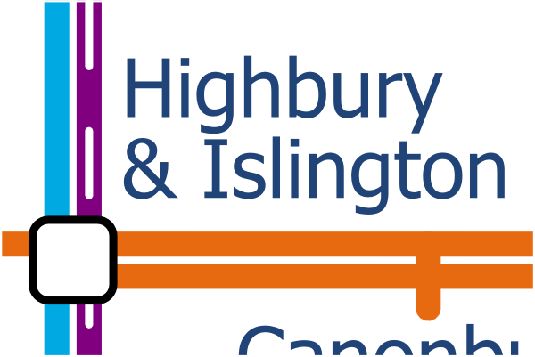 London Layout map of Highbury and Islington station